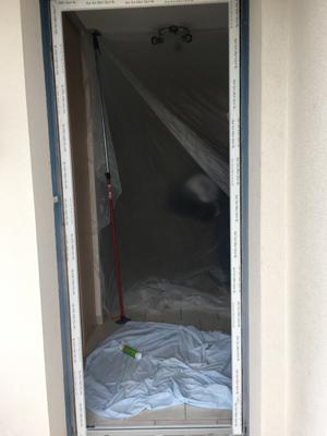 3 Chantier Menuiserie pendant Covid dormant posé renovation maison aigrefeuille