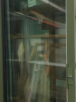 Fabricant de Menuiserie à La Rochelle : detail coulissant bi colore aluminium TECHNAL