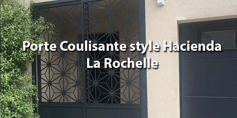 Porte Coulissante Technal sas d'entrée – La Rochelle