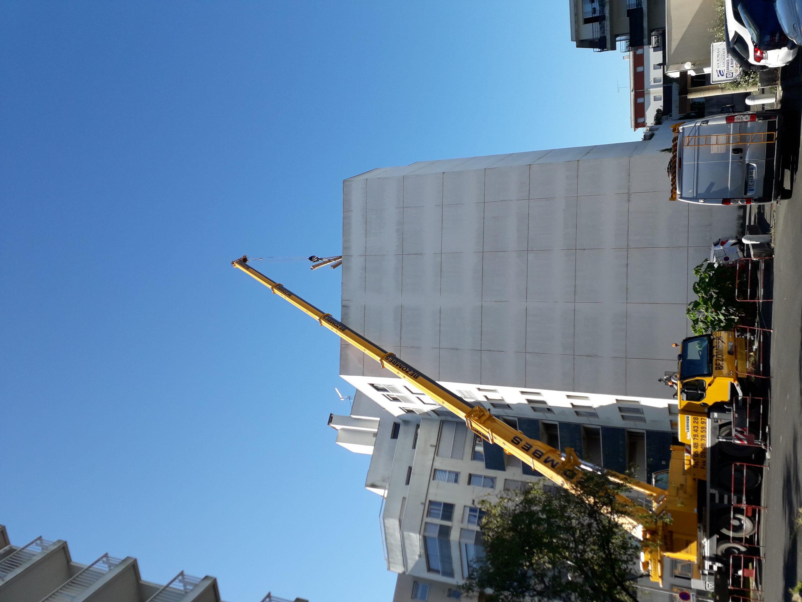 Chantier difficile Rénovation Menuiseries à La Rochelle, appartement 6ème étage
