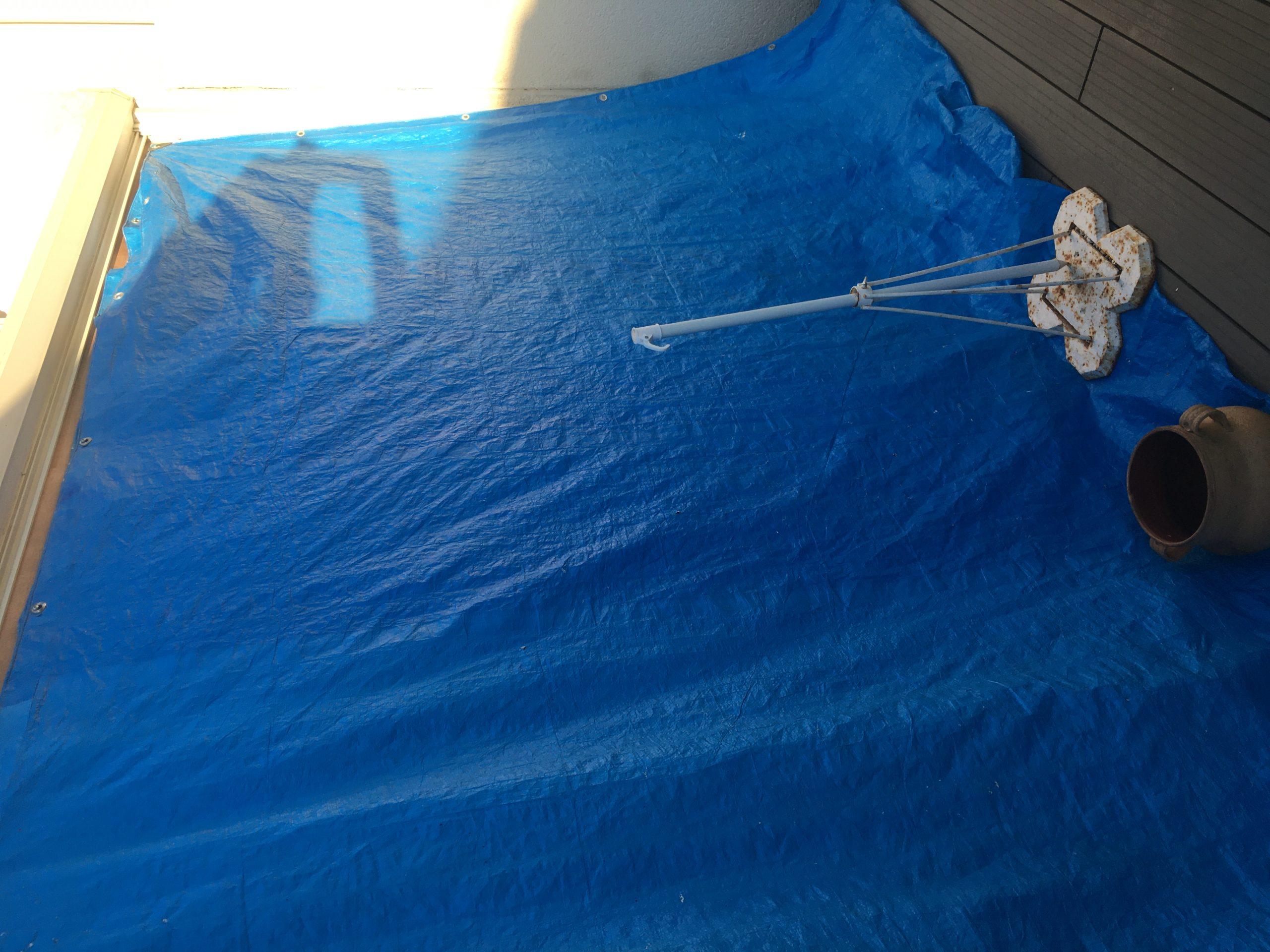 Dépannage avec mise hors d'eau et hors d'air d'une baie vitrée cassée à La Rochelle