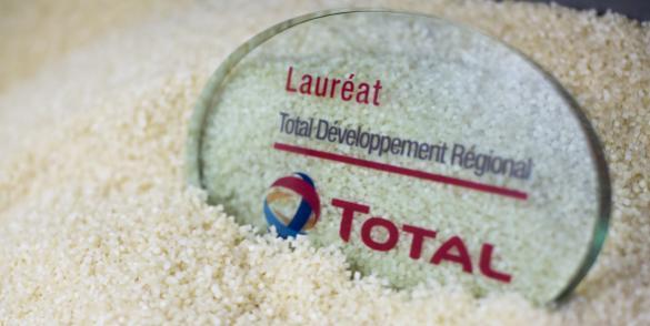 Appui financier par Total Développement Régional
