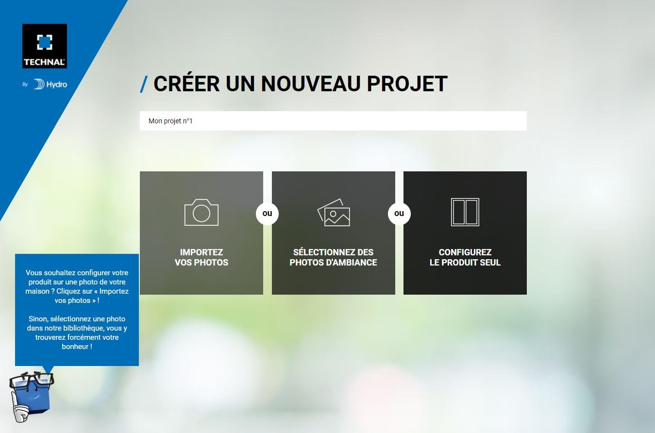 Configurateur de menuiserie 3D Technal La Rochelle par la Miroiterie et Menuiseries d'Aunis