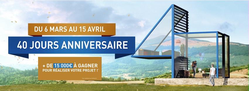 40 Jours Anniversaire Technal avec la Miroiterie et Menuiseries d'Aunis La Rochelle