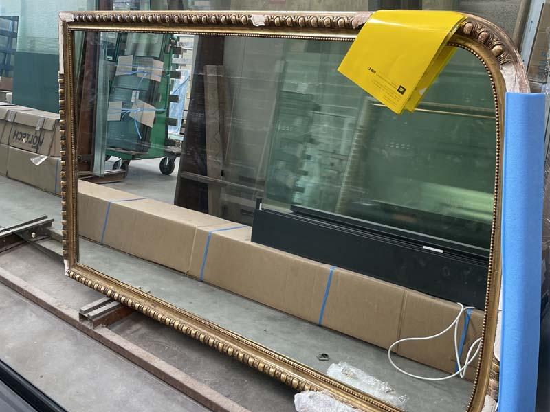 Rénovation d'un miroir ancien à La Rochelle